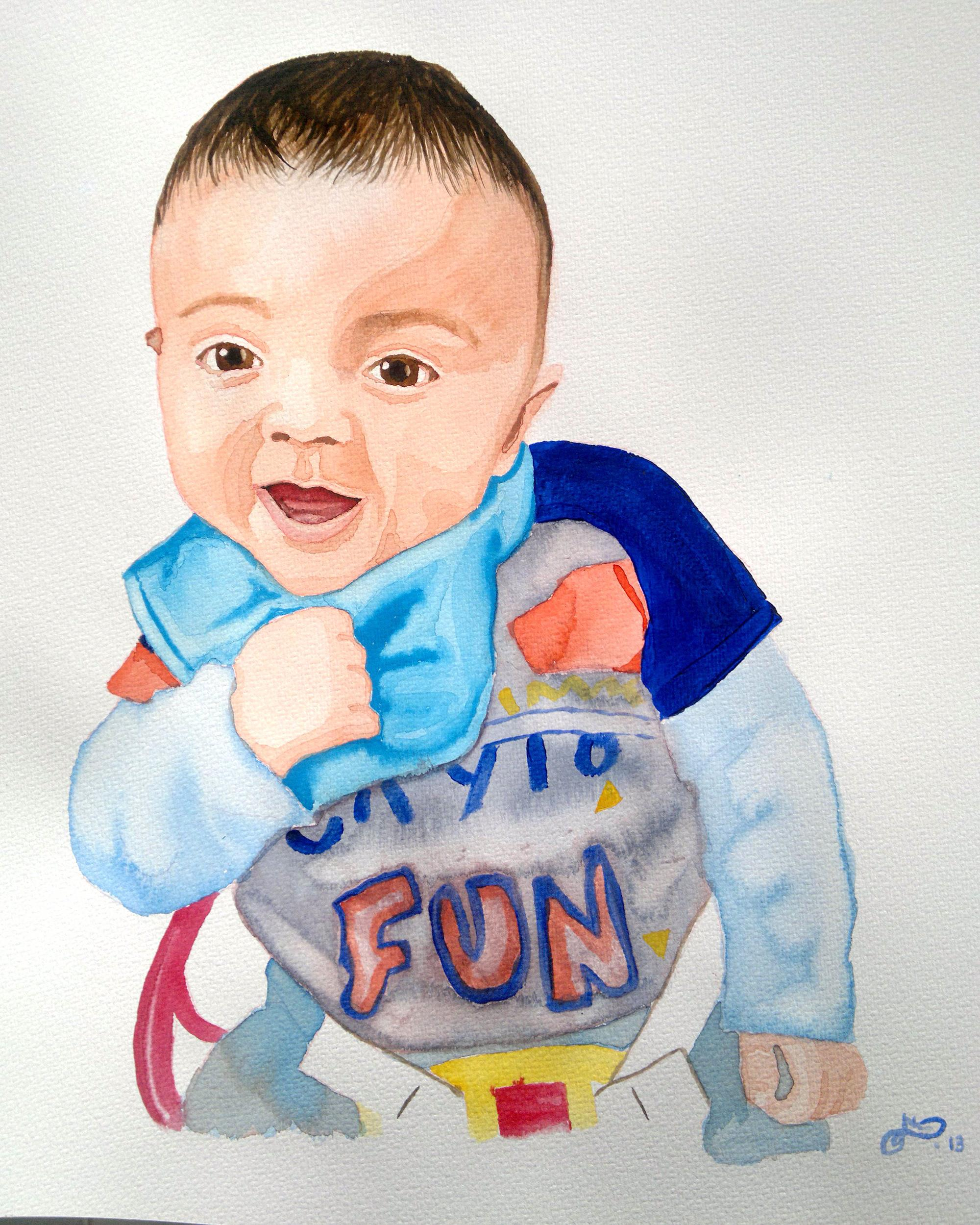 acuarela-retrato-bebe