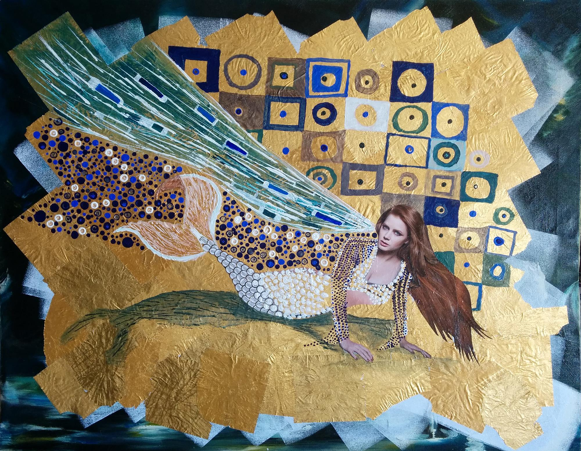 collage-sirena-klimt