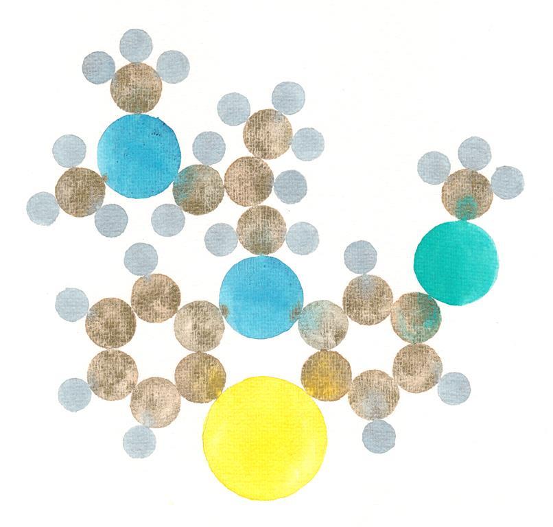 molecula-levomepromazine-c19h24n2os