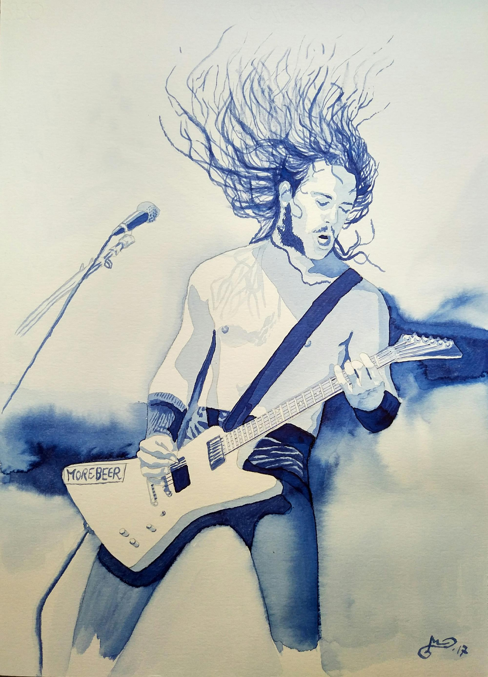 tinta-james-hetfield