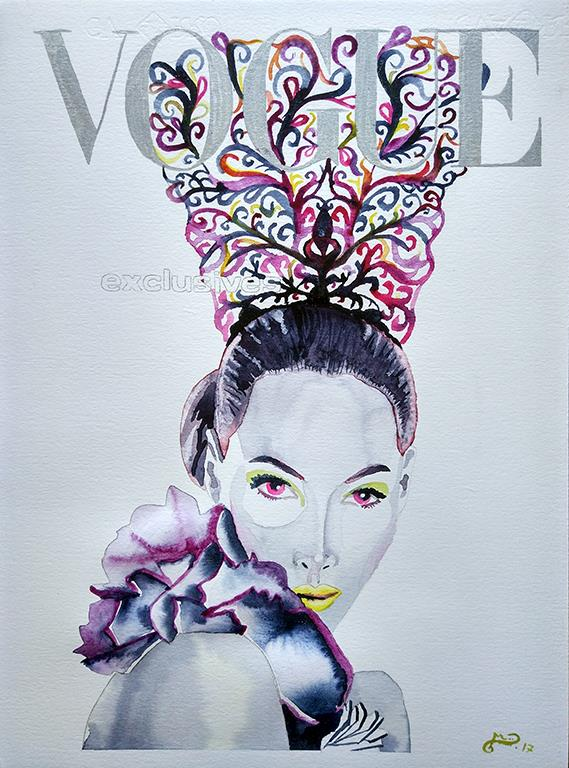 vogue-cristy-turlington-peineta-acuarela-web