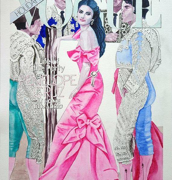 8ae45503a Flamenca Penélope Cruz - Edición limitada y firmada - Barbarella Blow